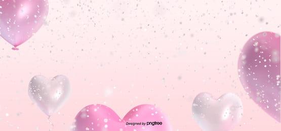 valentines day love balloon background