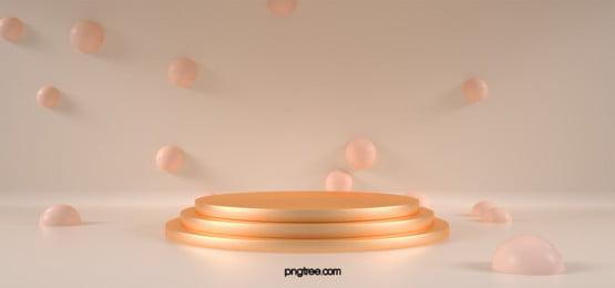 golden stereo circular background