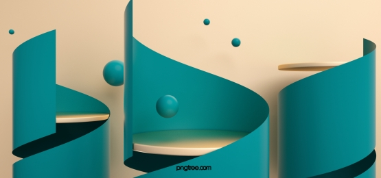 green spiral stereo background booth