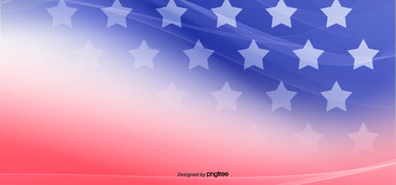 american flag color red blue background