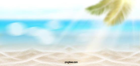 blur creative texture beach background