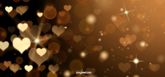 golden love glitter background