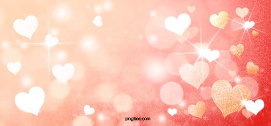 golden love sparkle background