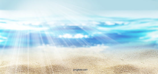hand painted creative sea texture background