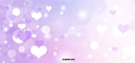 lilac love shiny background
