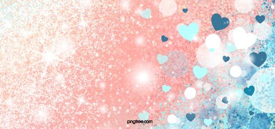 love decoration pink glitter background