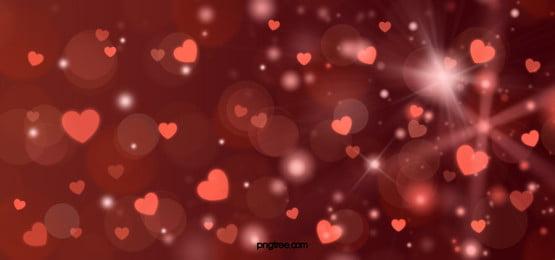 love decoration red glitter background