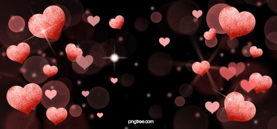 pink shiny love background