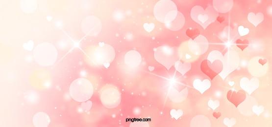 shiny love pink dreamy background
