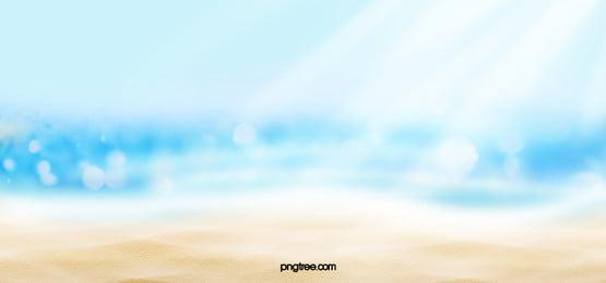 summer fantasy beach background