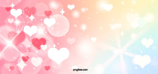 valentine s day heart decoration shiny background