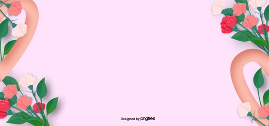 march womens day and mothers day pink love background
