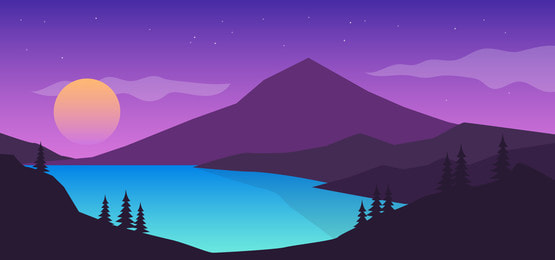 Full Aesthetic Landscape, Creative, Beautiful, Landscape Background  Background Image For Free Download