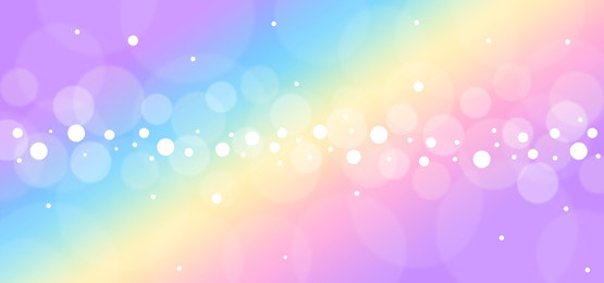 Unicon Horse With Beautiful Rainbow Background Gradation Colour Fortune Background Image For Free Download