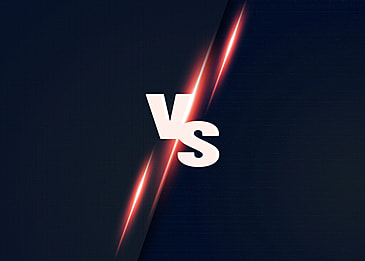 gradient light effect vs competition background