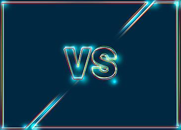 vs color light effect game background