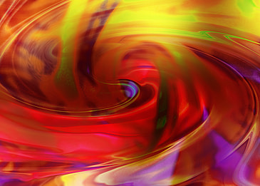color abstract rotating background