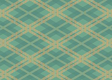 green scottish lines background