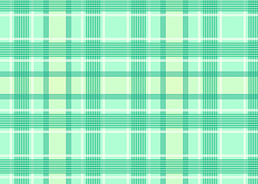 fresh and bright green scottish abstract background