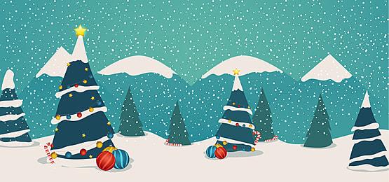 pngtree christmas winter flat design image 412205