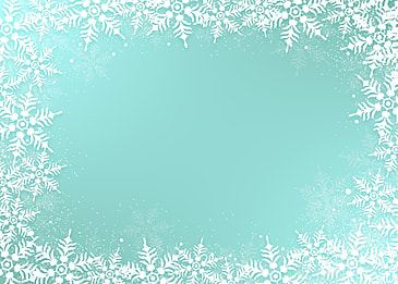 christmas blue texture snowflake border gradient background