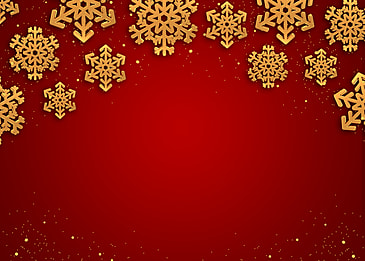 golden texture snowflake christmas red gradient background