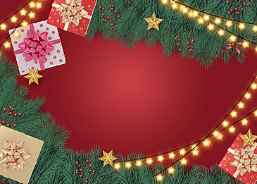 christmas event red gift