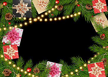 christmas event star lights red and green collocation