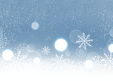 snowflake decoration blue glitter style background