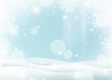 winter glitter style background