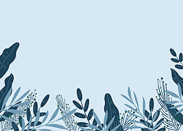winter plant cold color background