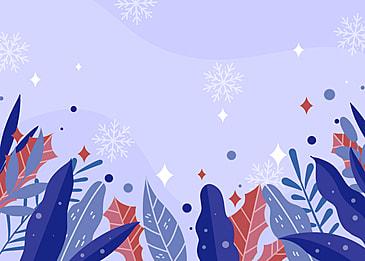 winter purple tone plant background