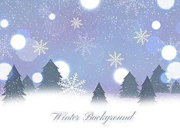 winter snow glitter style background