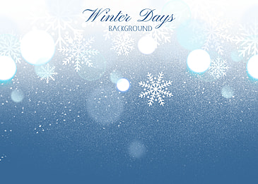 winter snowflake decoration glitter style background