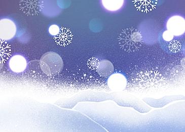winter snowy glitter style background