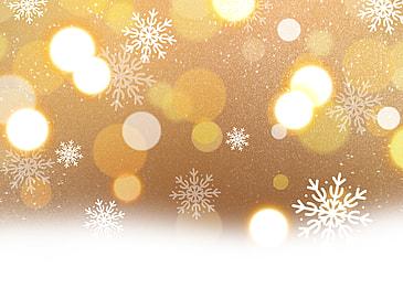 winter warm yellow glitter style background