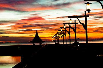 evening sunset light