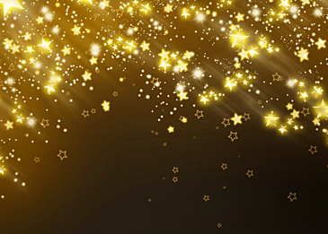 christmas holiday stars abstract background