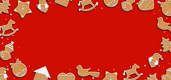 christmas red festive candy border background