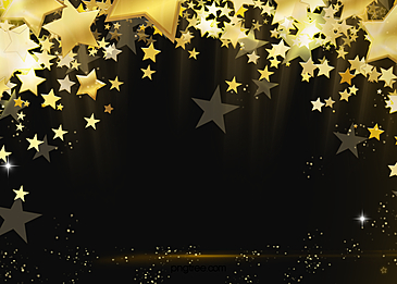 christmas stars glowing abstract background