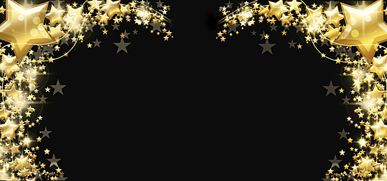 festive christmas stars glowing abstract background