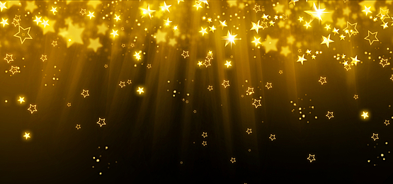 golden stars glowing beams abstract christmas background