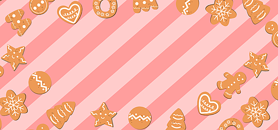 pink striped christmas candy border background