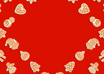 red festive christmas christmas tree love candy border background