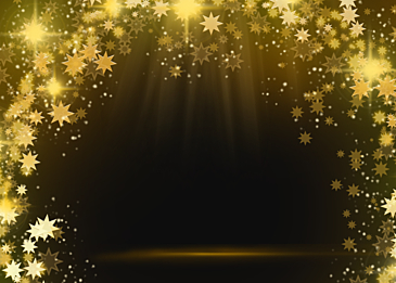 stars beam abstract decoration happy christmas day background