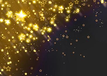 stars christmas glowing background