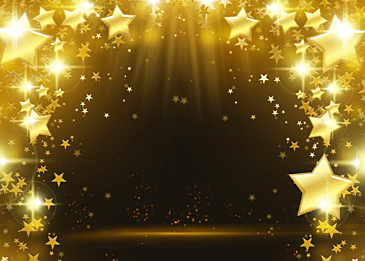 stars glowing christmas light beam abstract background