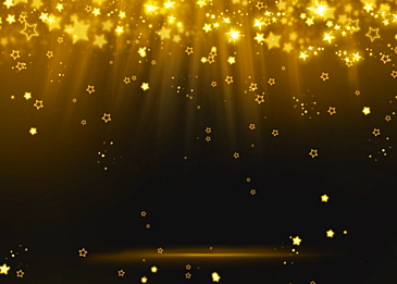 stars stage glow abstract background