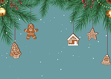 gingerbread man christmas cartoon style