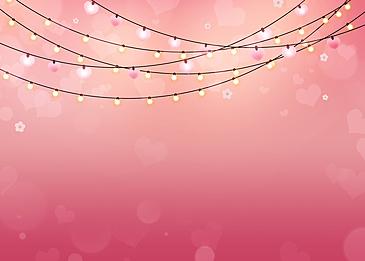 dark pink light bulb gradient valentines day light effect